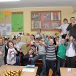 Klasa IVa w s. 12 z p. Marią Tomkowiak