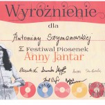 Tosia II Festiwal Piosenek Anny Jantar 001