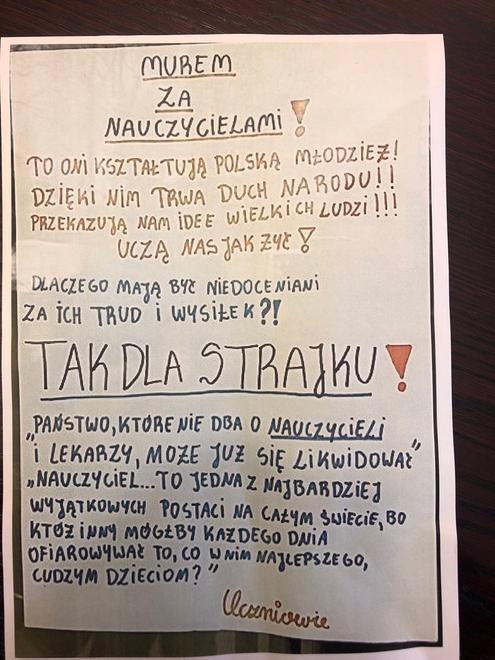 Strajk W Sp2 Trwa Walka Nie Jest łatwa Szkoła Podstawowa