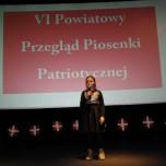 Katarzyna Rybka kl.IVc - występ towarzyszący podczas VI PPPP