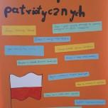 Praca jednej z grup - Kodeks Postaw Patriotycznych - kl. VIIa