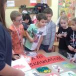 Warsztaty plastyczne prowadzone przez gimnazjalistki pod kierunkiem Ewelina Budych 2