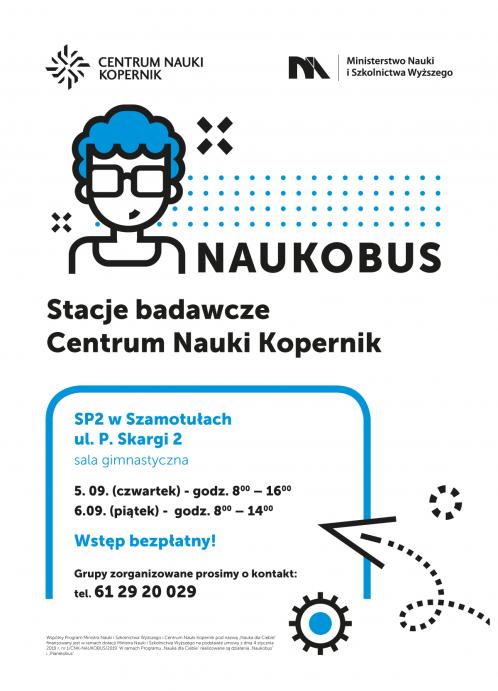 Plakat Naukobus 2