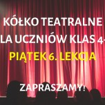 Plakat - teatr